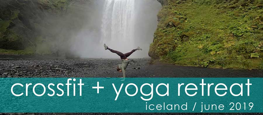 iceland crossfit+yoga retreat june 2019